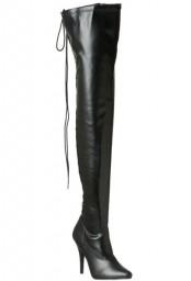 Cuissardes noires à lacet seduce-3063