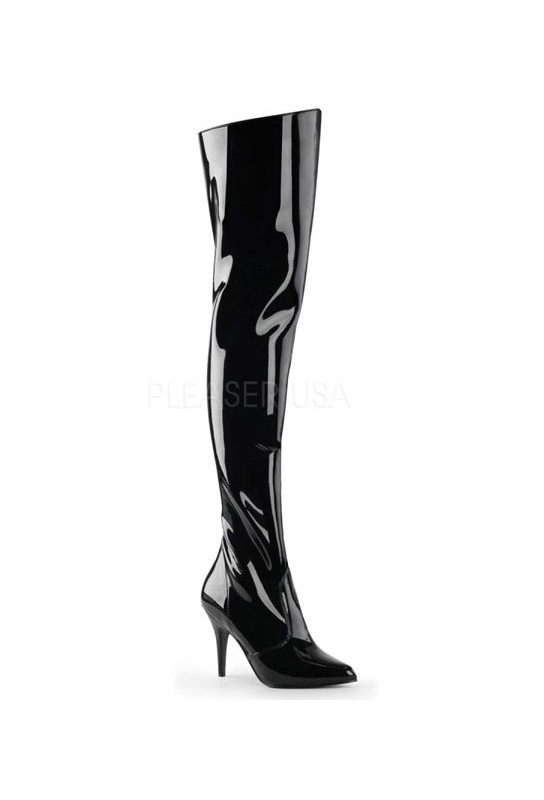 Cuissardes noires vernies vanity-3010