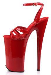 Sandales talon vertigineux