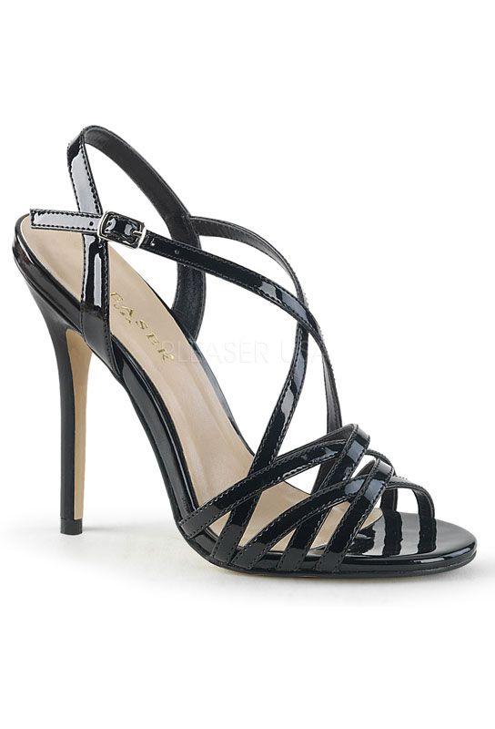 Sandale noires vernis amuse-13