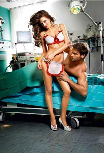 Tenue d'infirmière érotique