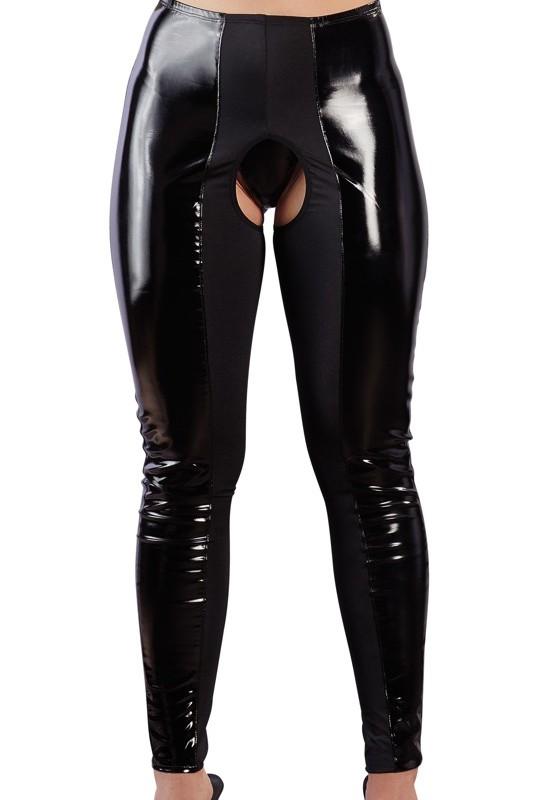 porter un leggings noir ouvert