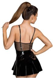 Robe vinyle noire