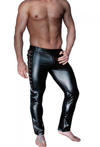 Pantalon homme lacet