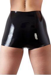 Culotte femme latex noir
